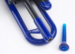 boquilla trompeta de plástico