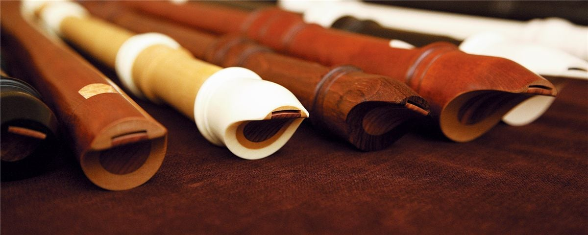 Ver más flautas dulces en Thomann