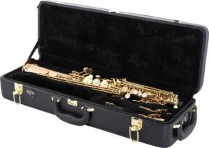 Saxo soprano Thomann TSS-350 maleta